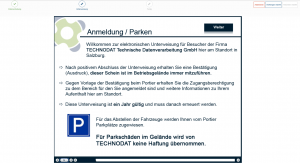 syneris_Besuchermanagement_Anmeldung_Web