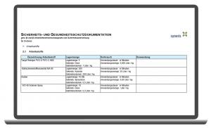 syneris Erstellung des SiGe-Dokuments